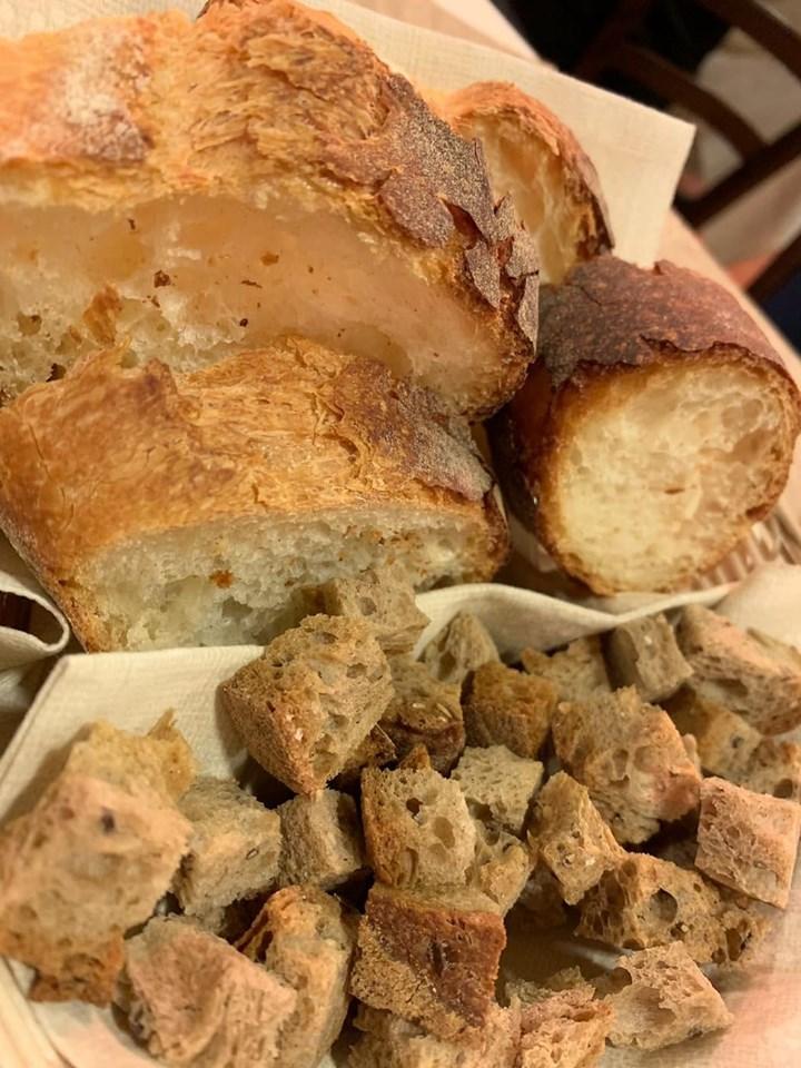 Braceria Barone - Il pane e i crostini