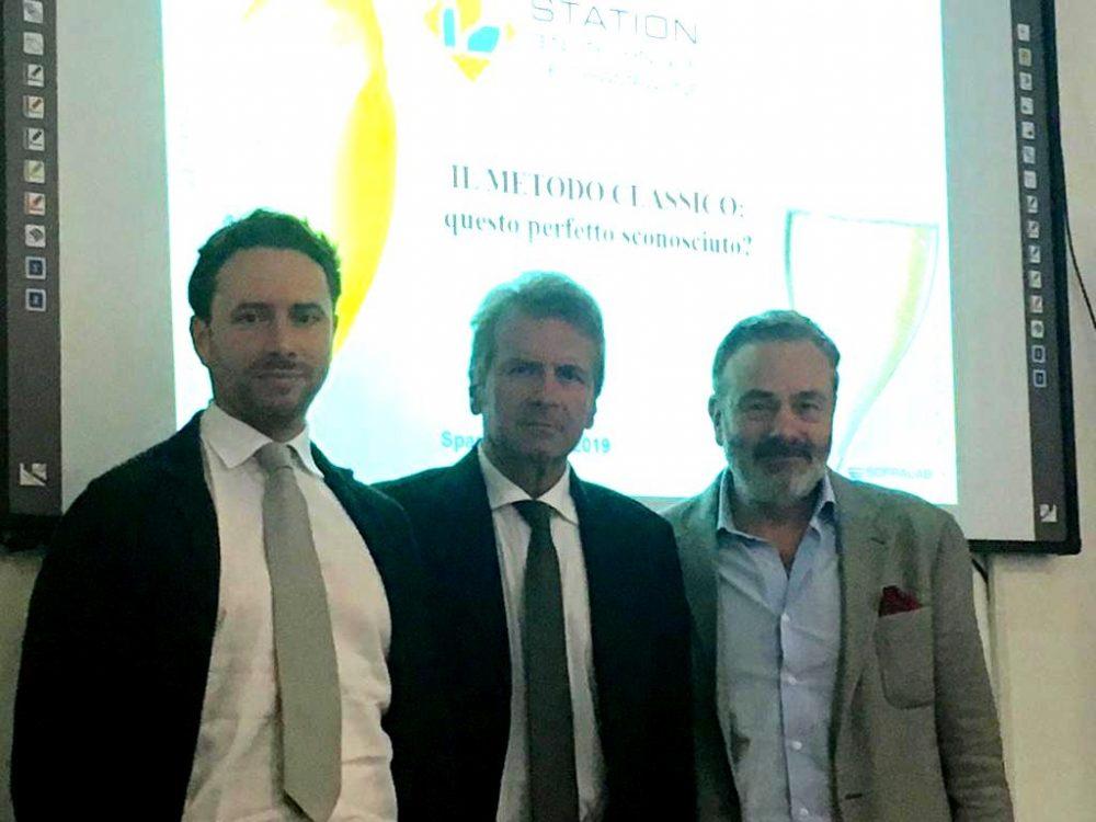 Caterini preside ITAS , Di Meo presidente Assoenologi, Enrico Farinazzo direttore Oenofrance