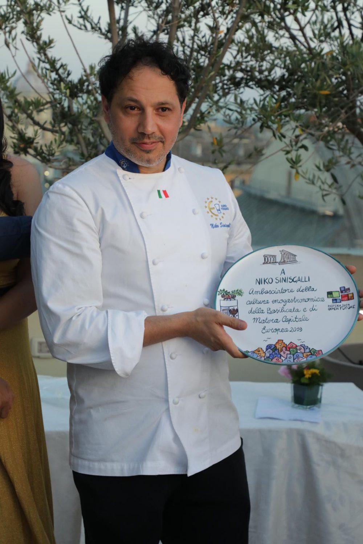 Chef Niko Sinisgalli