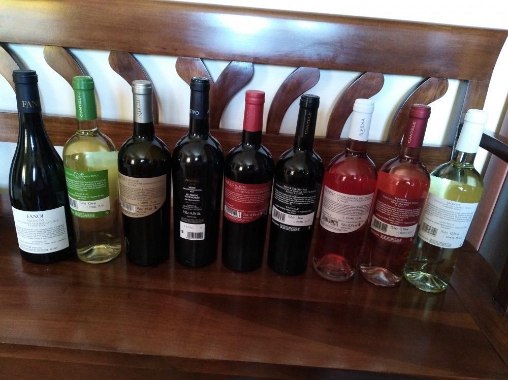 Controetichette vini di Cantele