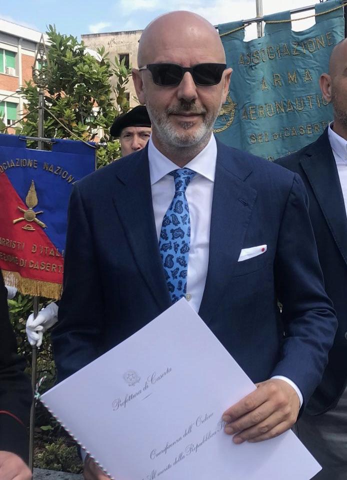 Franco Pepe Cavaliere della Repubblica Italiana