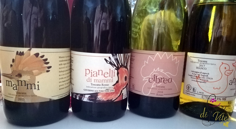 I vini di Carlo Tanganelli
