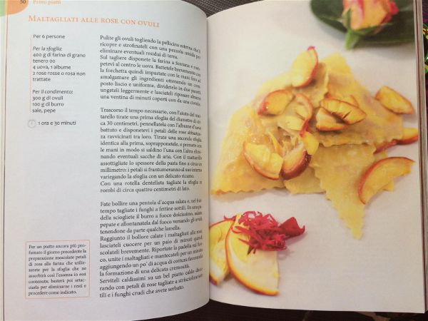 Lucia Antonelli cucina di frontiera tagliatelle rose ovuli