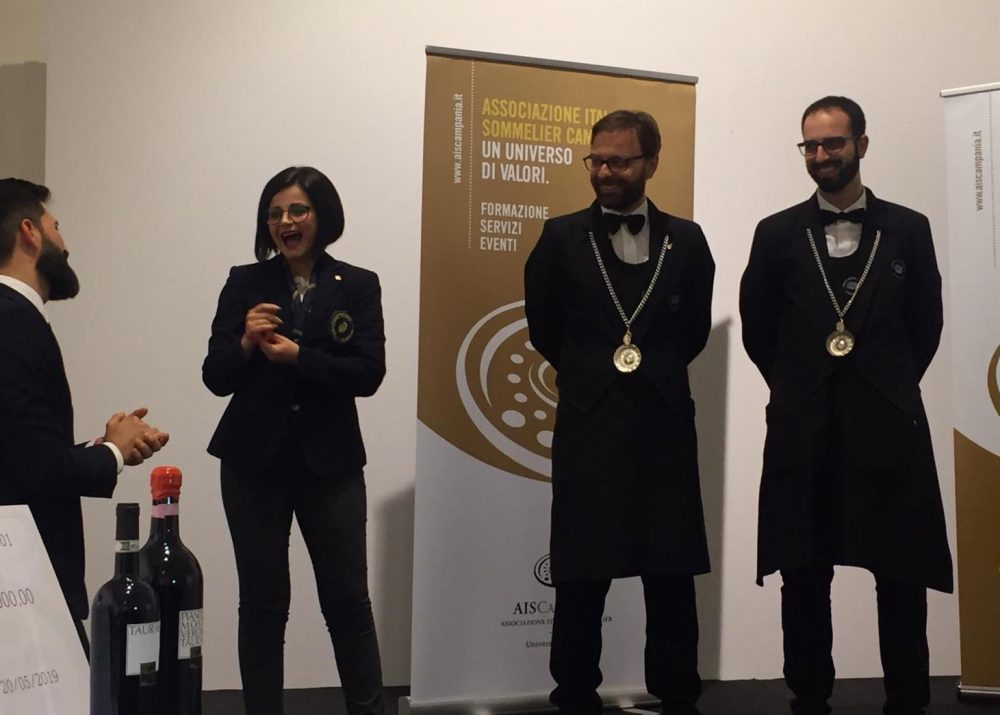 Luigi Scala miglior sommelier della Campania 2019