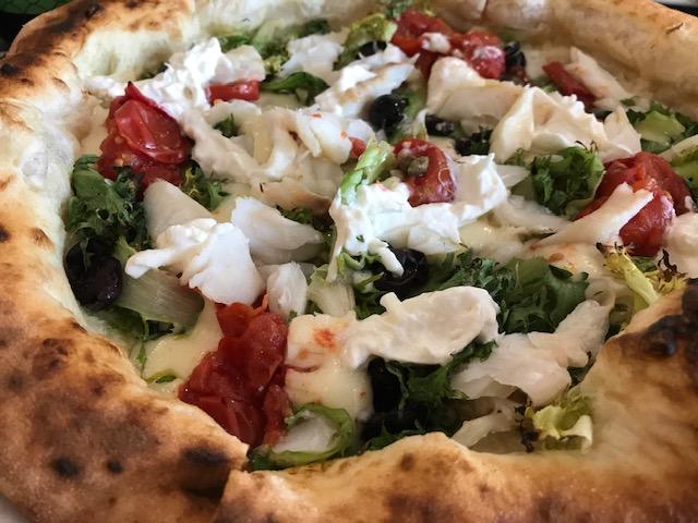 Mama' Pizza Passion - Pizza Scarola e baccala'
