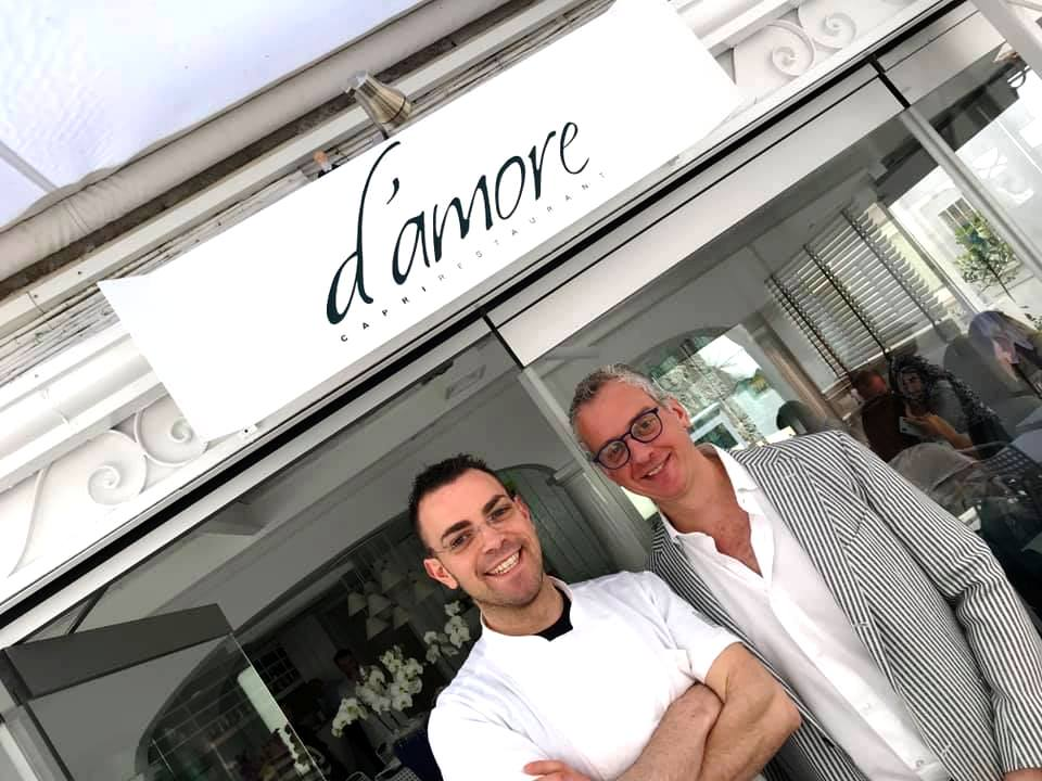 Marco D'Amore e Pasquale Rinaldo