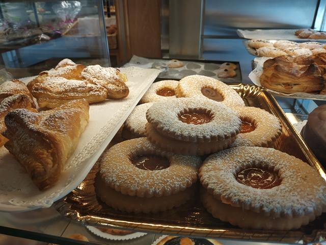 Pasticceria Purificato, biscotti Occhi di bue