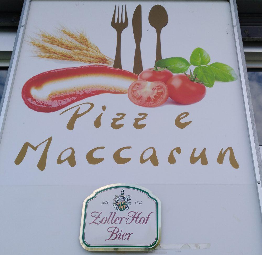 Pizz e Maccarun Insegna