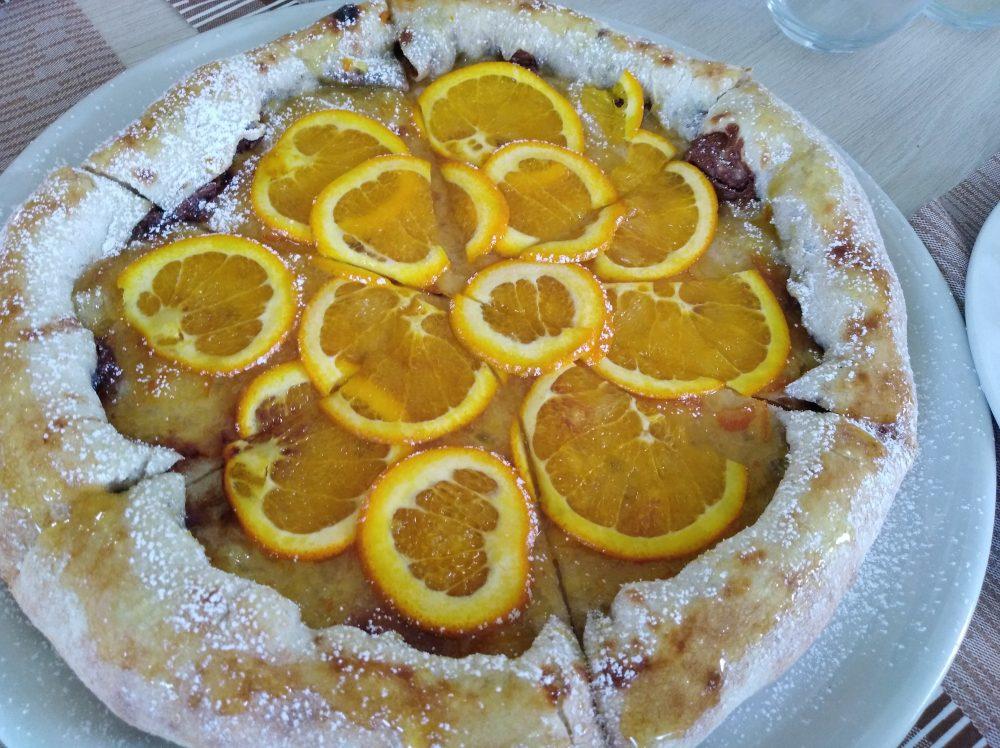 Pizz e Maccaruna Pizza aall'arancia e nutella