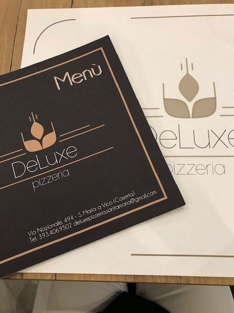 Pizzeria De Luxe - menu'
