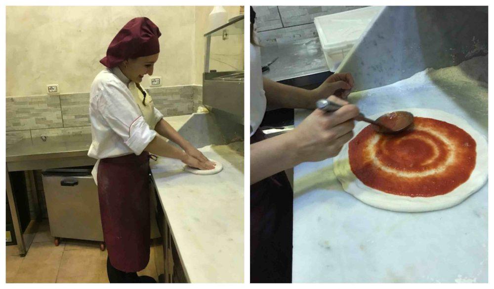 Pizzeria Friggitoria Mary Rose - al lavoro