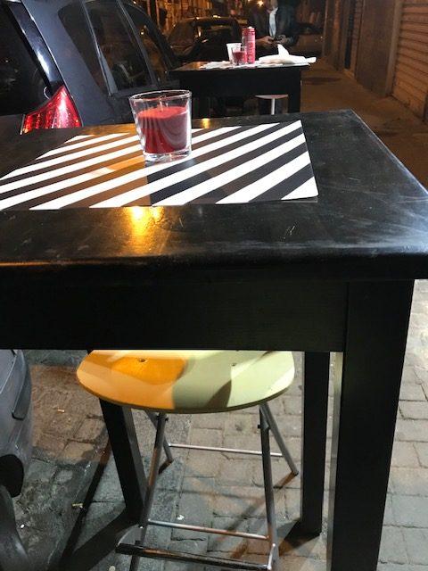 Pizzeria Friggitoria Mary Rose - tavoli esterni