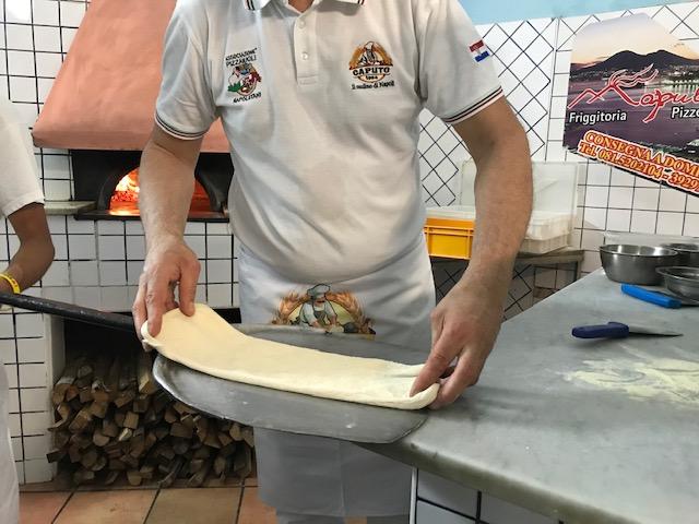 Pizzeria Napule' - preparazione