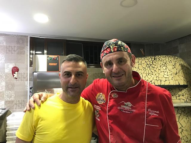 Pizzeria Nonna Ma' - Mimmo D'Agostino e Corrado Alfano