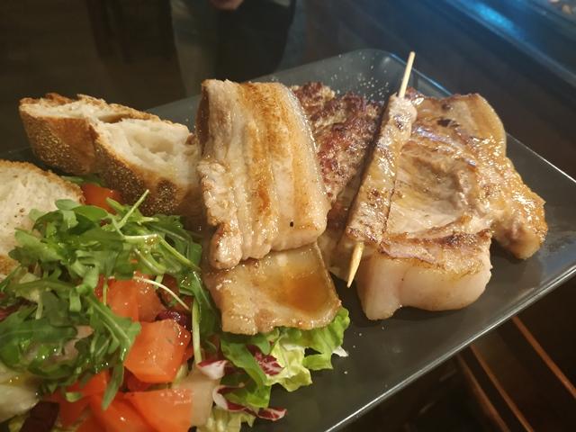 Pork'n'Roll La Bottega - la grigliata mista