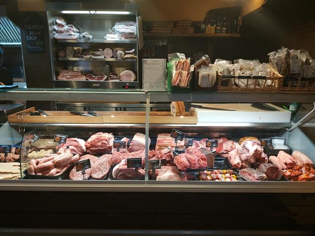 Pork'n'Roll La Bottega - l'angolo della macelleria