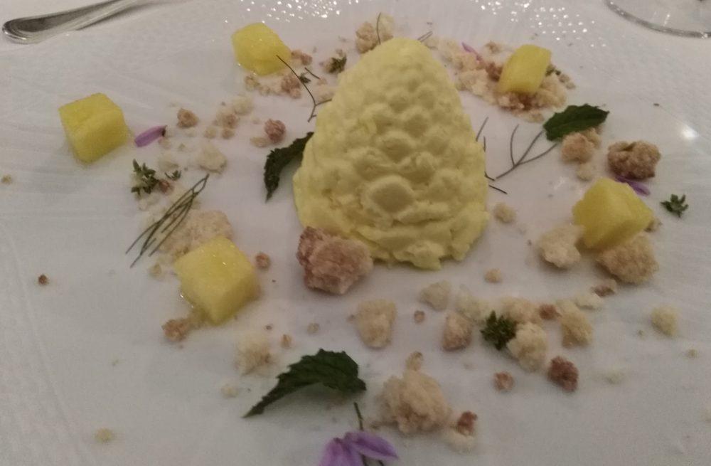 Ristorante Il Petrosino Semifreddo all'ananas