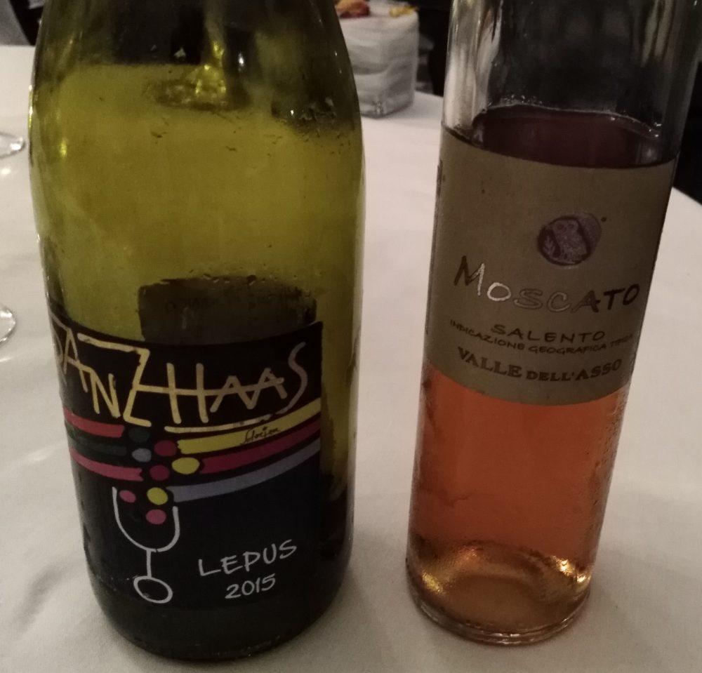 Ristorante Il Petrosino Vini degustati