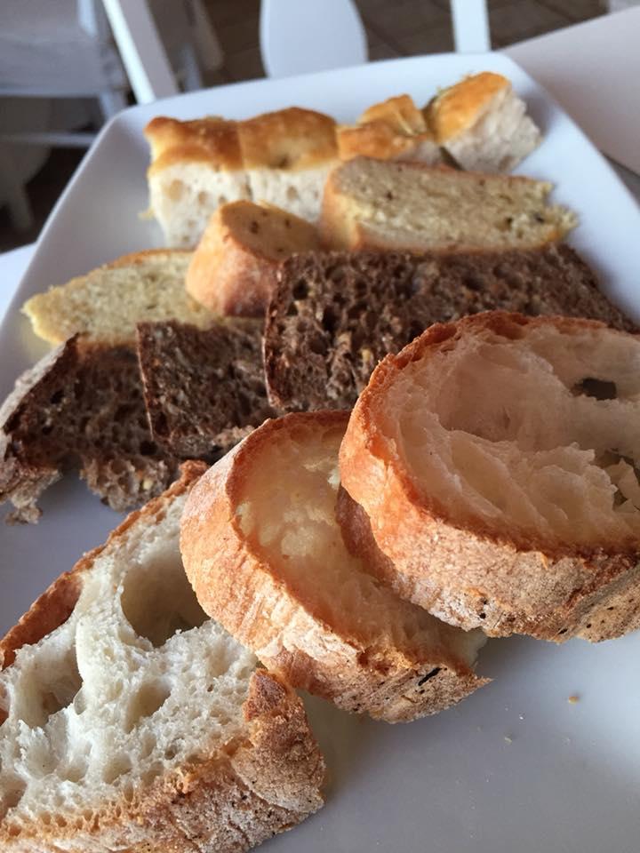 Ristorante degli Angeli, il pane