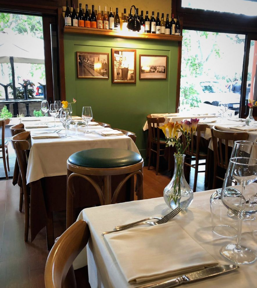 Taverna Cestia, scorcio della sala (foto Taverna Cestia, pagina FB)
