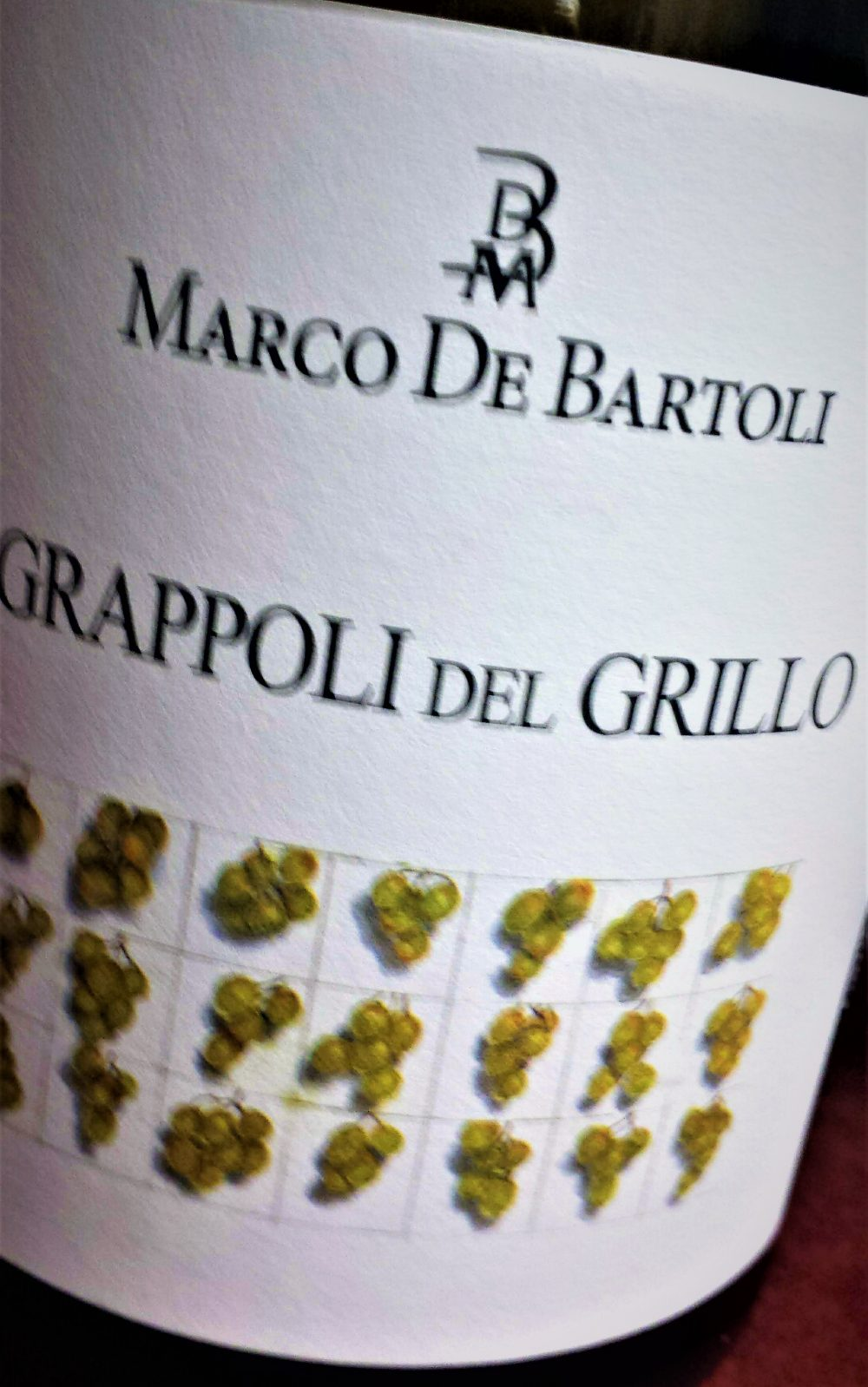Terre Siciliane Grappoli del Grillo 2014, Marco De Bartoli