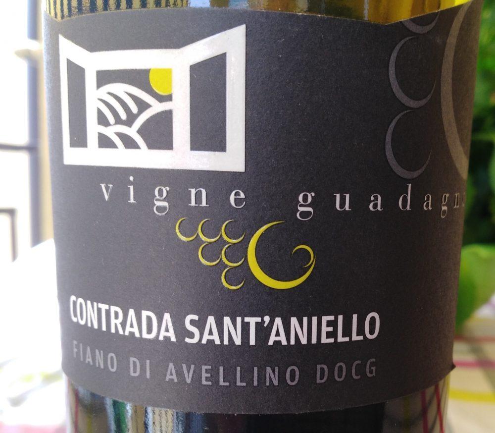 Vigna Guadagno Contrada Sant'Aniello Fiano di Avellino Docg 2019