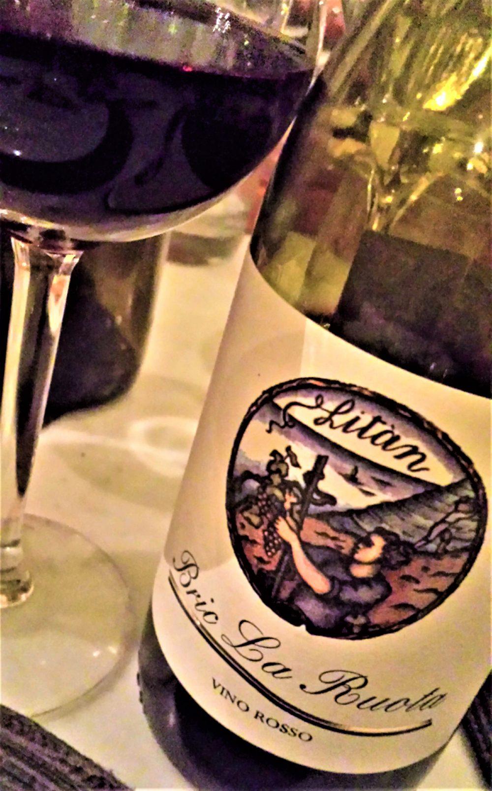 Vino Rosso Bric la Ruota 2015, Pinot Nero, Cantine Litan