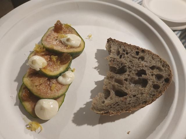 Il piatto di Antonio Lebano e Alysha Aggarwal