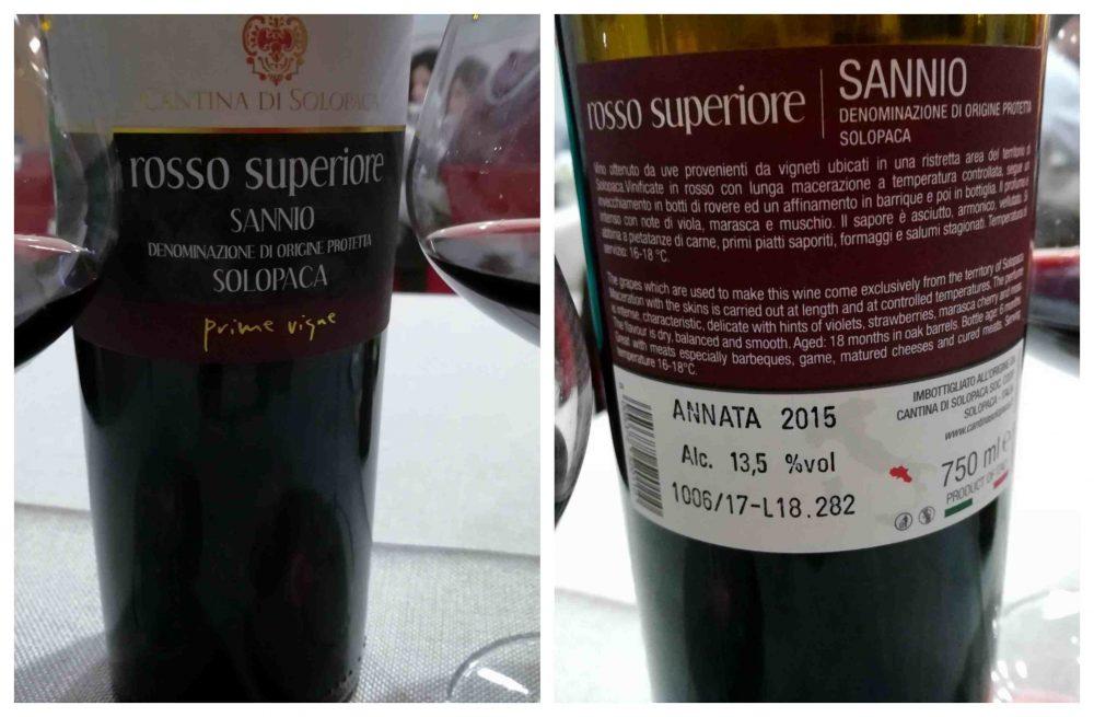 Braceria KmZero - il vino