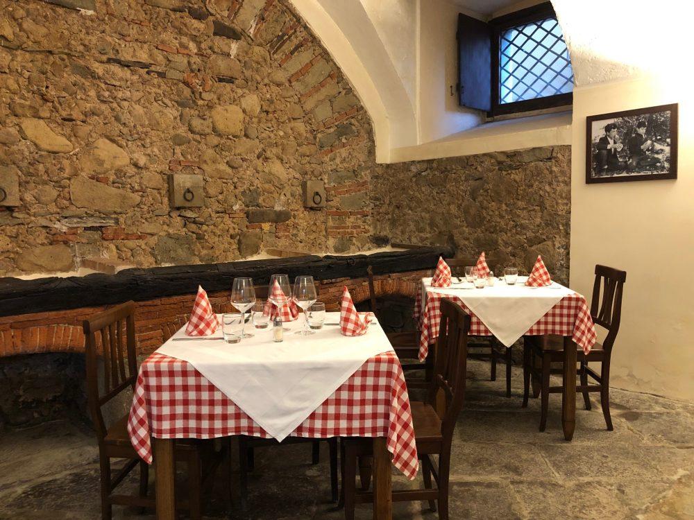 La Taverna del Principe - La sala