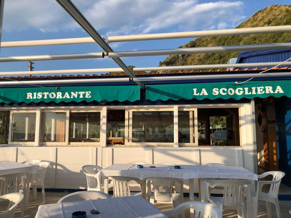 Ristorante La Scogliera, Marina di Ascea