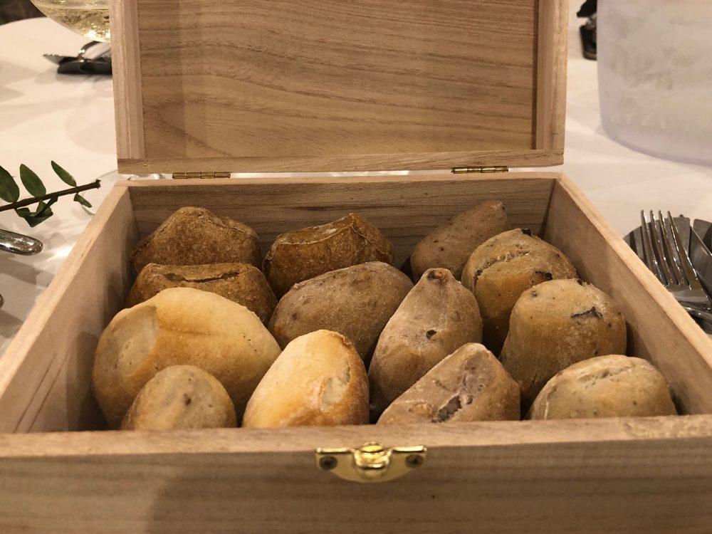 Ristorante Alessandro Feo - Il servizio del pane