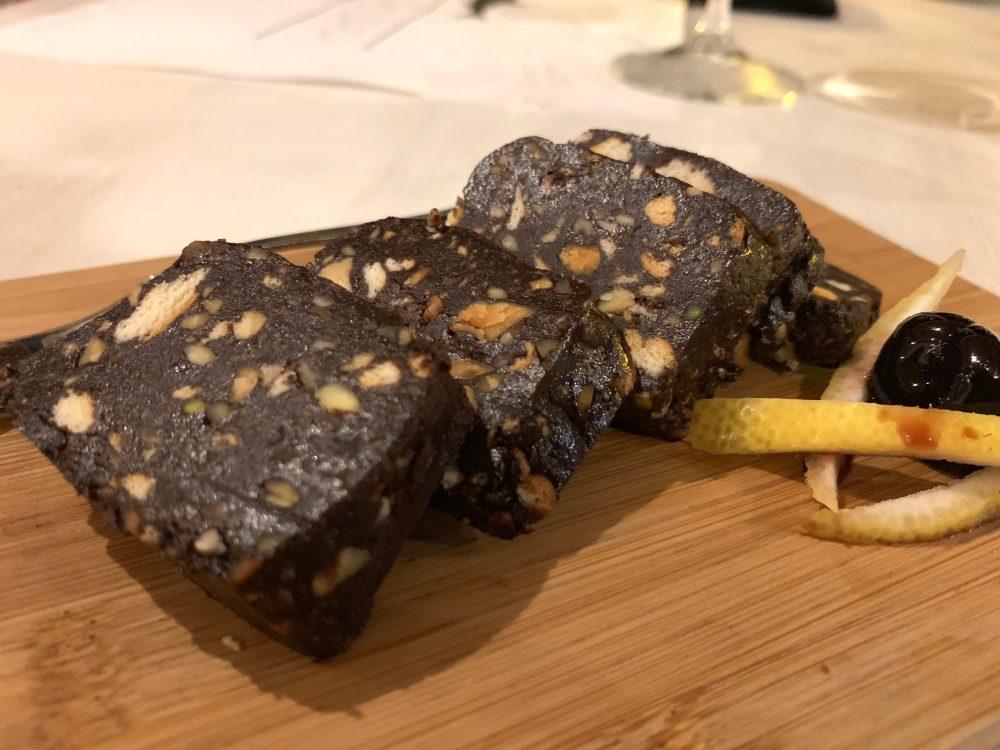 Suscettibile - salame di cioccolato