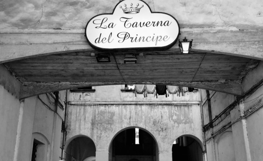 Taverna del Principe, l'insegna