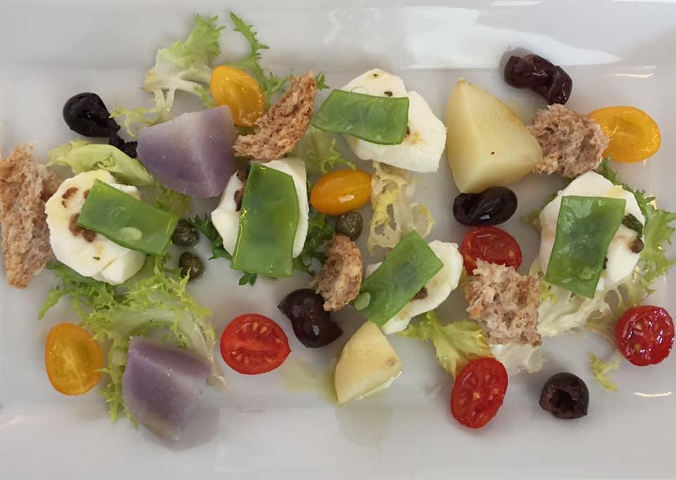 Il Ghiottone, insalata di ricciola