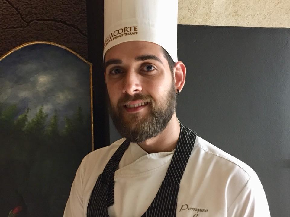 Ristorante Regiacorte a Matera, lo chef Pompeo Lorusso