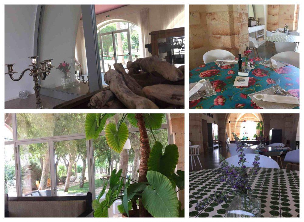 Ristorante Casamatta, Vinilia Wine Resort, scorci delle sale