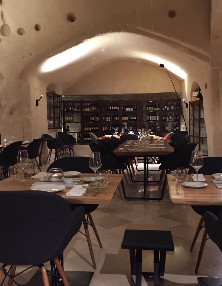 Ristorante Regiacorte a Matera, la sala