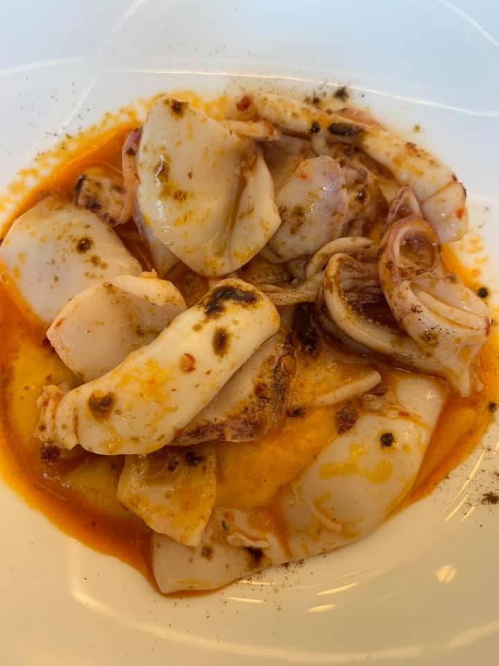 Me Restaurant - Zuppetta di totani e peperoni