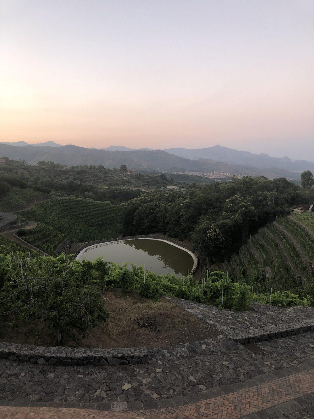 La Gelsomina e i suoi terrazzamenti giardino sull'Etna