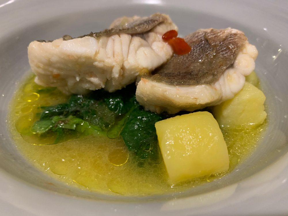 Il Ghiottone - gallinella con scarola e patate