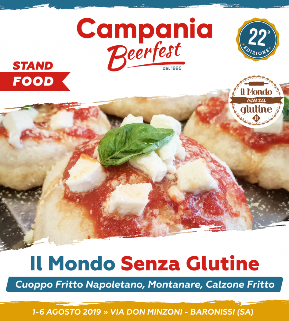 Campania Beer Fest, Mondo senza Glutine