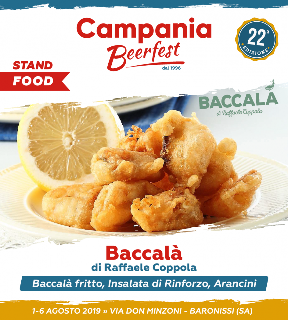 Campania Beer Fest, baccala'