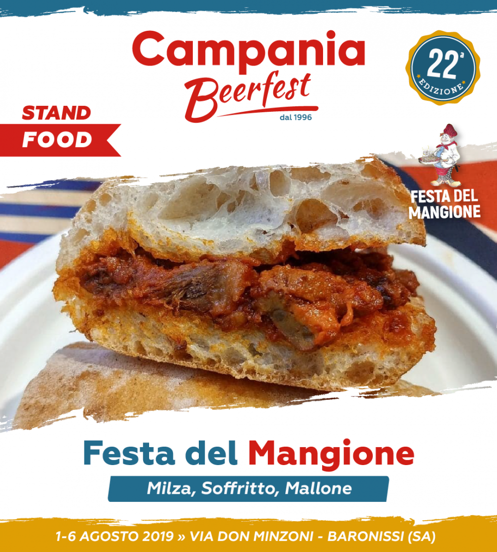 Campania Beer Fest, festa del mangione