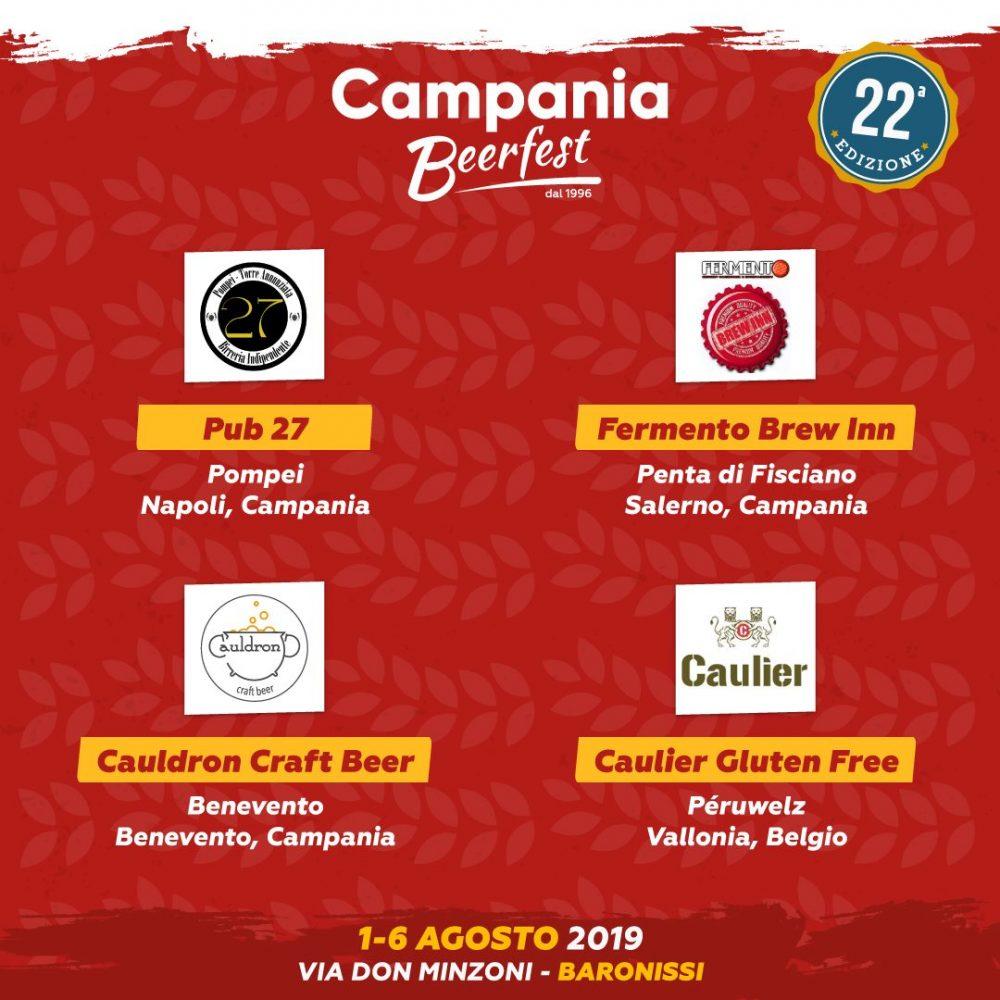 Campania Beer Fest, pub e beerfirm
