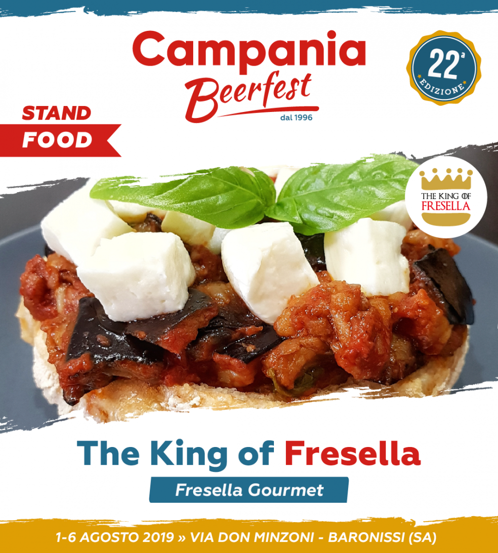 Campania Beer Fest, the king of fresella