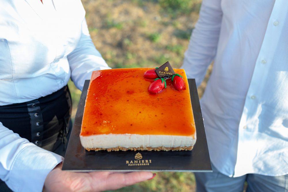 Cheese cake al pomodoro cannellino flegreo- Pasticceria Ranieri