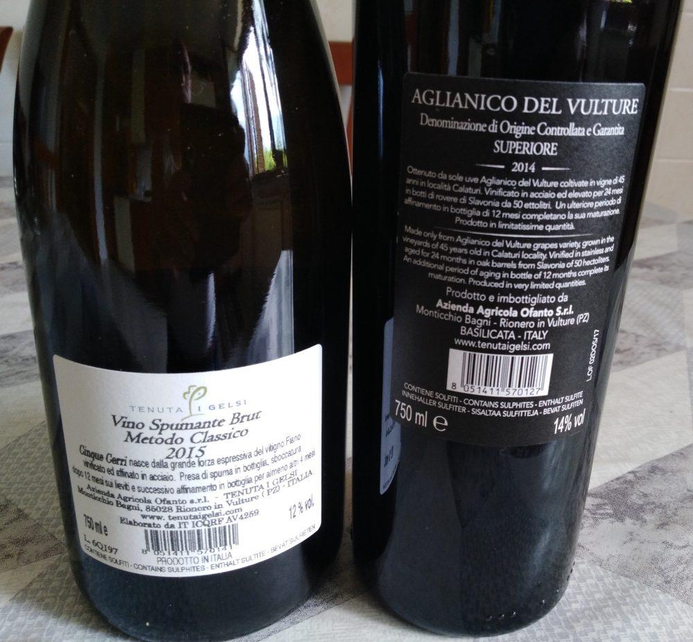 Controetichette vini I Gelsi
