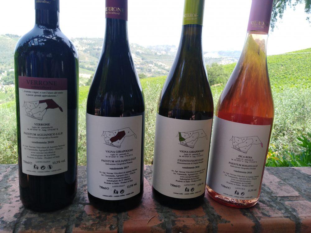 Controetichette vini Verrone