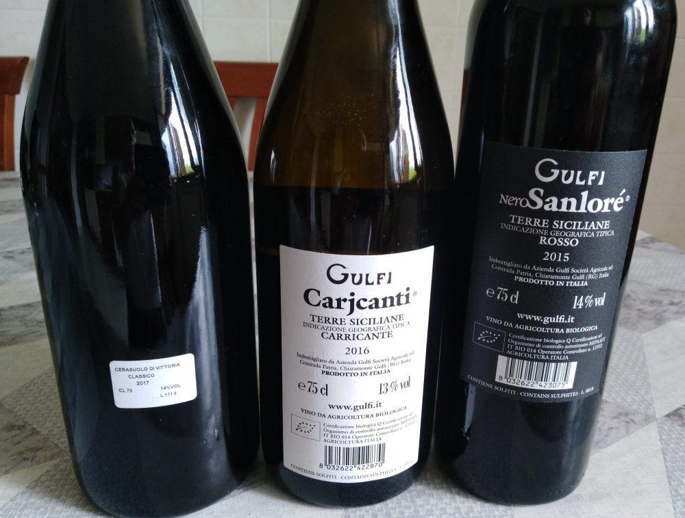 Controetichette vini di Gulfi